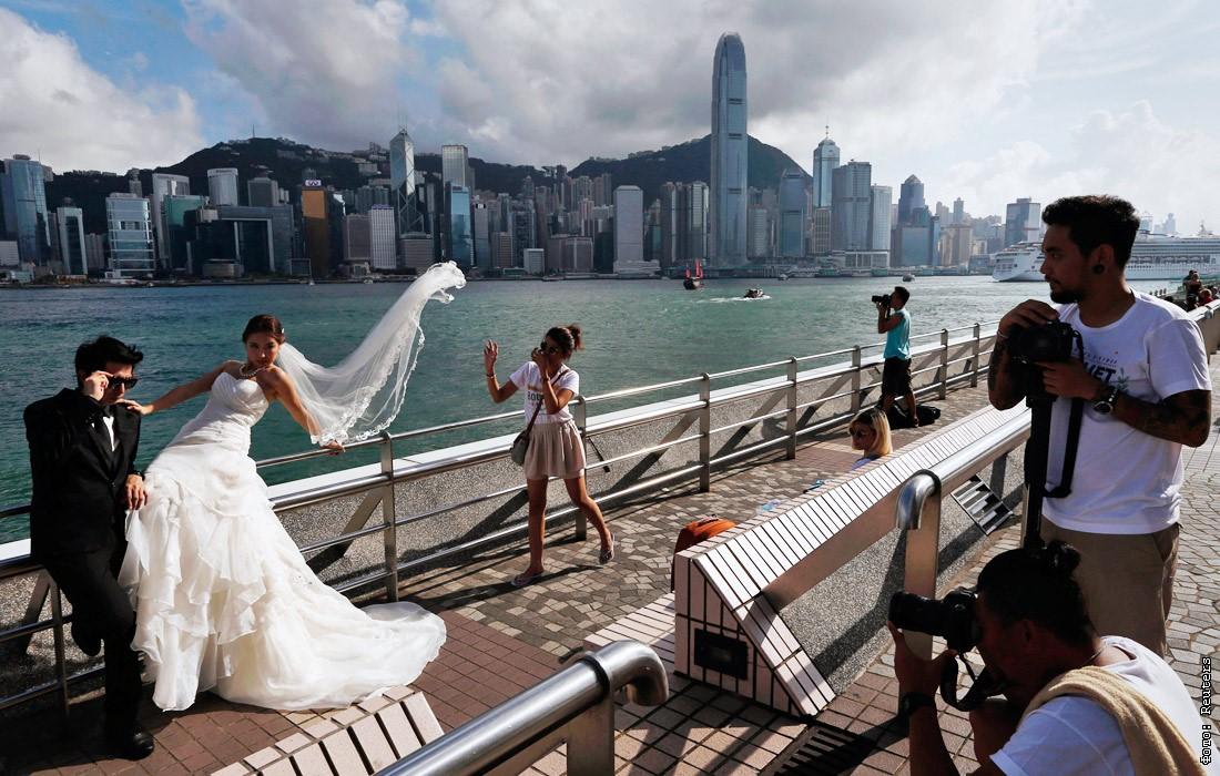 свадебная фотосессия в гонконге девушки предпочитают