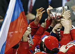 Сборная России готовится защитить титул