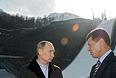 Президент России посетил олимпийские объекты в Сочи