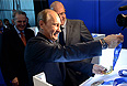 Владимир Путин на презентации комплекта медалей Олимпийских и Паралимпийских игр 2014.