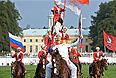 Эстафета олимпийского огня в России