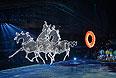 Театрализованное представление на церемонии открытия XXII зимних Олимпийских игр в Сочи.
