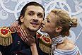 Волосожар и Траньков победили в короткой программе с мировым рекордом