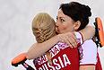 Женская сборная России по керлингу одержала вторую победу на олимпийском турнире в Сочи