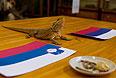 Животные предсказывают результат хоккейного матча Россия - Словения
