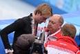 Тренер Евгения Плющенко Алексей Мишин пояснил, что фигурист снялся из-за болей в спине, которые усилились после падения на тренировке.
