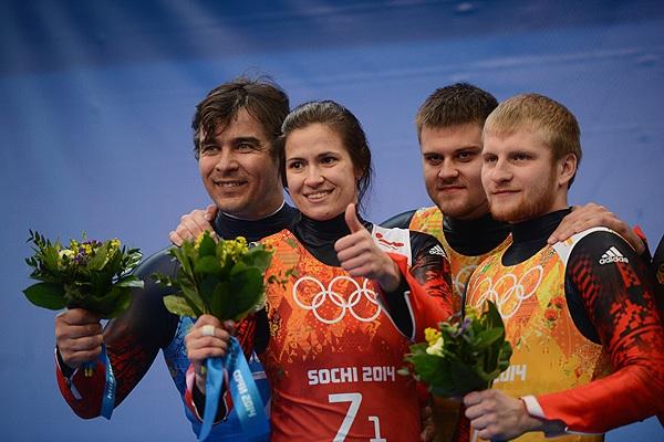 Альберт Демченко, Татьяна Иванова,  Александр Денисьев и Владислав Антонов