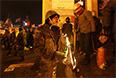 "Майдановцы отвечают милиции ""коктейлями Молотова"""