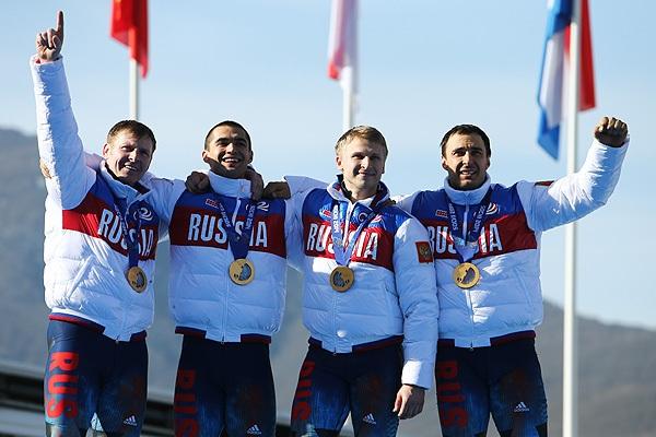 Александр Зубков, Алексей Негодайло, Дмитрий Труненков и Алексей Воевода