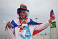 Церемония открытия XI зимних Паралимпийских игр.