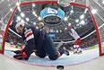 Хоккейный матч Россия-США