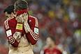 Футболист сборной Испании Серхио Рамос разочарован поражением своей команды от Чили, которое лишило чемпионов мира-2010 шансов на выход в 1/8 финала.