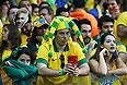 Обычно жизнерадостные бразильцы в этот вечер были сами на себя не похожи.