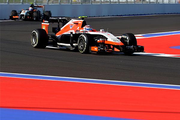 Гонщик команды Marussia Макс Чилтон.