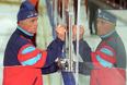 Виктор Тихонов на предсезонной тренировке ЦСКА. 2003 год.