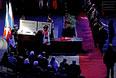 Церемония прощания с хоккейным тренером Виктором Тихоновым в Ледовом дворце спорта ЦСКА