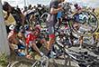 """Веломногодневка """"Тур де Франс"""" проходит с 4 по 26 июля. Спортсмены проедут по территории трех стран - Нидерландов, Бельгии и Франции."""