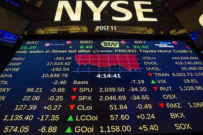 Рынок акций США упал в среду - фото 1 из 6