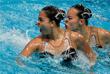 Китайские спортсменки Хуан Сюэчэнь и Сунь Вэньянь