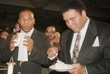 Мохаммед Али отмечает свой 57-й день рождения в компании другого знаменитого боксера Майка Тайсона в Лас-Вегасе