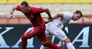 Товарищеский матч Россия - Сербия