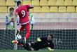 Автор ответного гола в ворота сборной России Александр Митрович (№9)