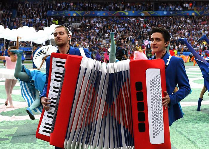 Церемония открытия Евро-2016 - фото 6 из 10