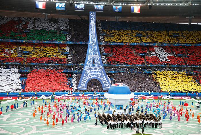 Церемония открытия Евро-2016 - фото 10 из 10