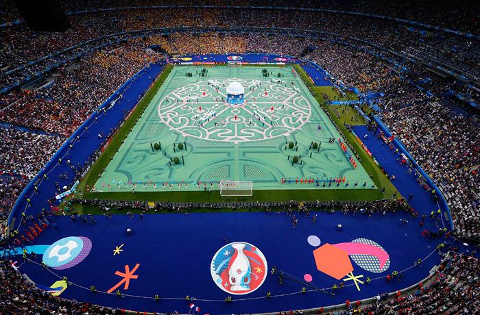 Церемония открытия Евро-2016 - фото 8 из 10