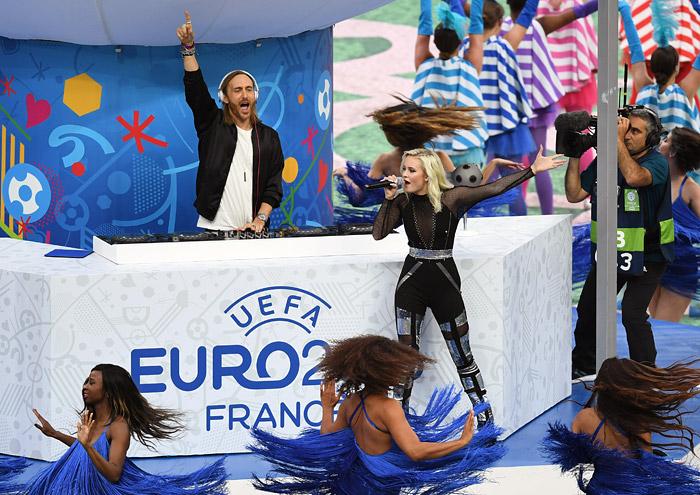 Церемония открытия Евро-2016 - фото 5 из 10