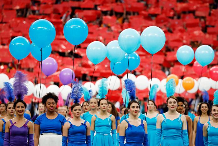 Церемония открытия Евро-2016 - фото 4 из 10