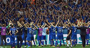 Исландия - Англия. Эмоции