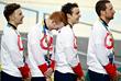 Спортсмены из Великобритании одержали победу в командной гонке преследования по велоспорту на треке с рекордом 3:50.265