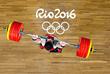 Грузинский штангист Лаша Талахадзе (свыше 105 кг) установил новый мировой рекорд по сумме двух упражнений, взяв вес 473кг