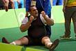 Иранский тяжелоатлет Бехдад Салими (свыше 105 кг) установил мировой рекорд в рывке - 216 кг