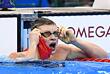 Британский пловец Адам Пити так же побил свой рекорд, преодолев брассом дистанцию 100 м за 57,13 с