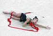 Маргарита Мамун стала чемпионкой Олимпийских игр по художественной гимнастике в личном многоборье. По сумме четырех упражнений - с обручем, мячом, булавой и лентой гимнастка показала лучший результат - 76,483 балла.