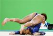Британка Элисса Дауни упала во время квалификации по гимнастике