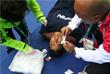 Японская спортсменка Кения Ясуда получила травму в предварительном матче по водному поло