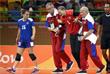 Голкипер сборной России по гандболу Анна Седойкина травмировала колено в игре против шведской команды