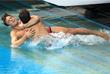 Британские спортсмены Даниэль Гудфеллоу и Томас Дейли, выигравшие бронзу в синхронных прыжках с 10-метровой вышки