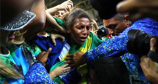 Эмоции олимпийских побед