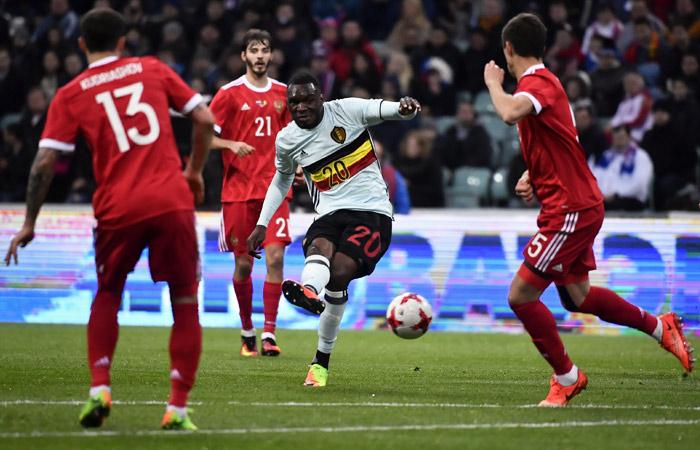 Сборная России по футболу вничью сыграла с Бельгией в товарищеском матче