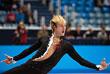 Евгений Плющенко во время выступления с короткой программой мужского одиночного катания на чемпионате России 2013 года. По итогам короткой и произвольной программ он стал вторым, уступив первое место Максиму Ковтуну. Однако на олимпийский турнир в Сочи в мужском одиночном катании делегирован был именно Плющенко.