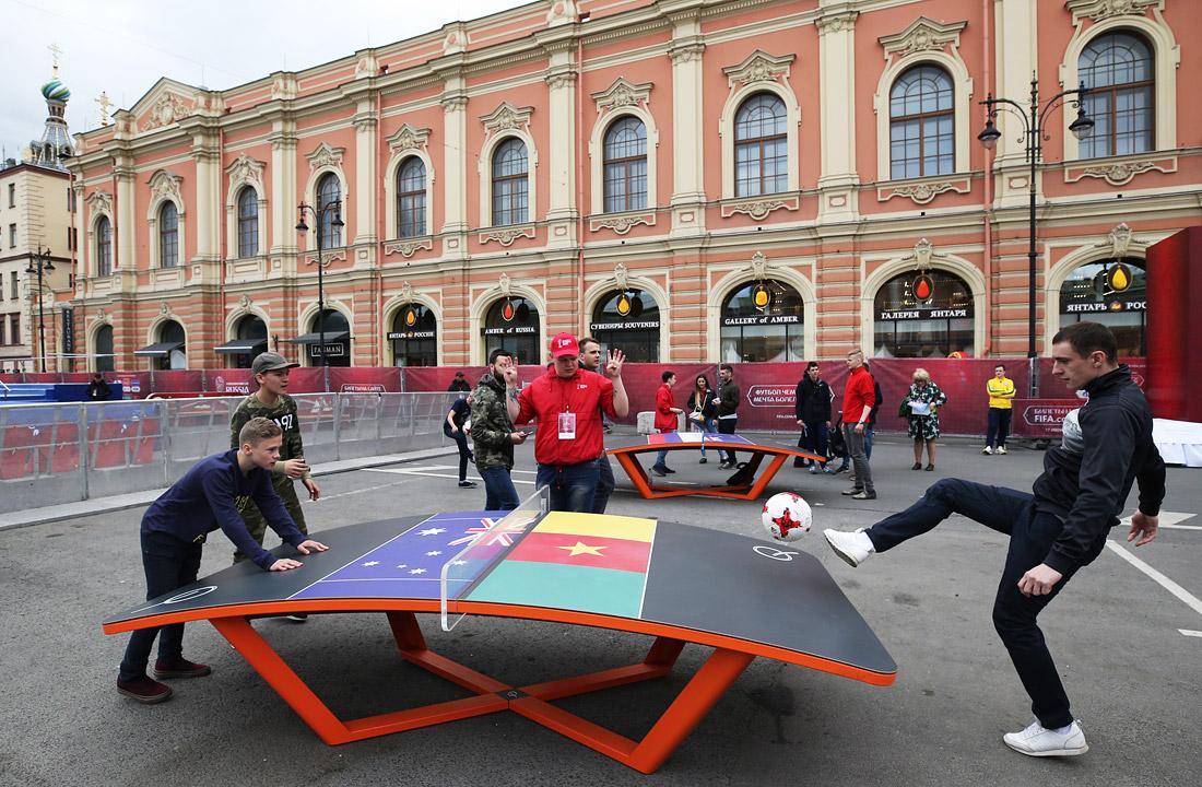 Открытие Парка Кубка конфедераций в Санкт-Петербурге - фото 7 из 7