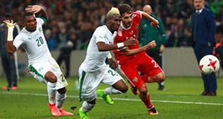 Товарищеский матч Россия - Кот-д'Ивуар