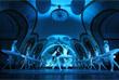 """Сцену для выступления балетной труппы установили на платформе станции """"Новослободская"""""""