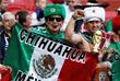 Мексиканцы поддерживают свою сборную на матче против Португалии в Казани