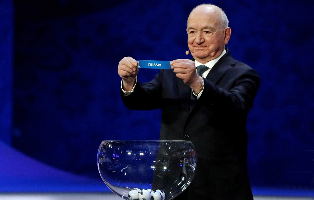 Советский футболист и футбольный тренер, первый вице-президент РФС Никита Симонян