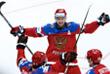 Нападающий Сергей Мозякин - двукратный чемпион мира по хоккею (2008, 2009)